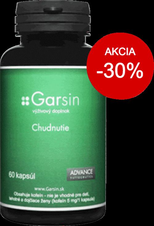 Tabletky na chudnutie Garsin - zľava - 30