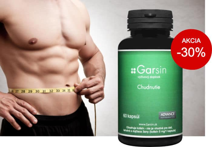 Tabletky na chudnutie Garsin - zľava 30%.