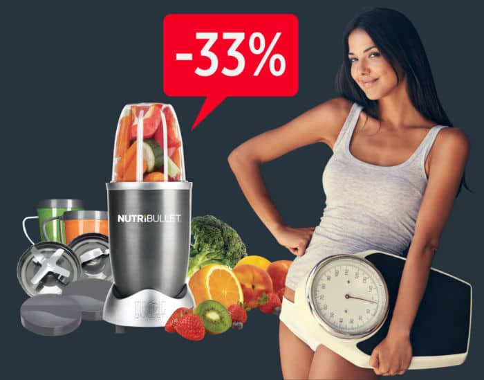 Ako schudnúť? Banner Nutribullet | Schudni hravo