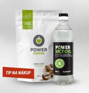 Nápoje na chudnutie, PowerCoffee a MCT olej