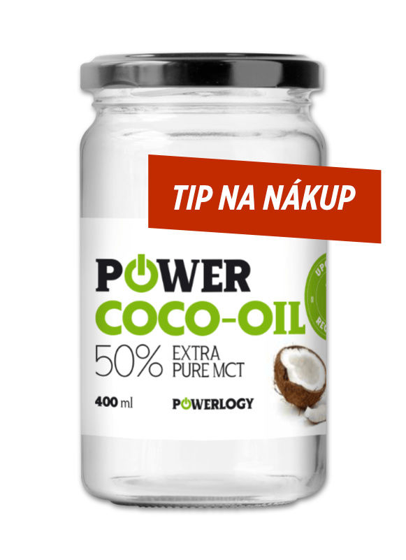 Kokosový olej Power Coco-Oil