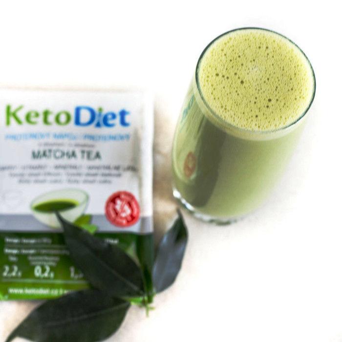 Nápoj na chudnutie Matcha tea od KetoDiet
