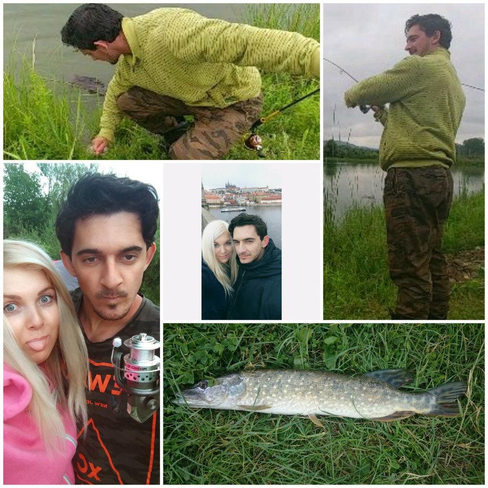 Matej Leščinský je aj vášnivý rybár