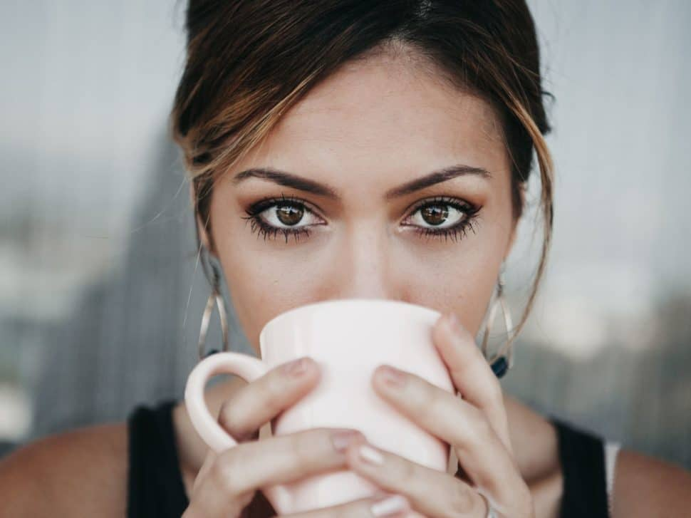 káva a chudnutie - banner