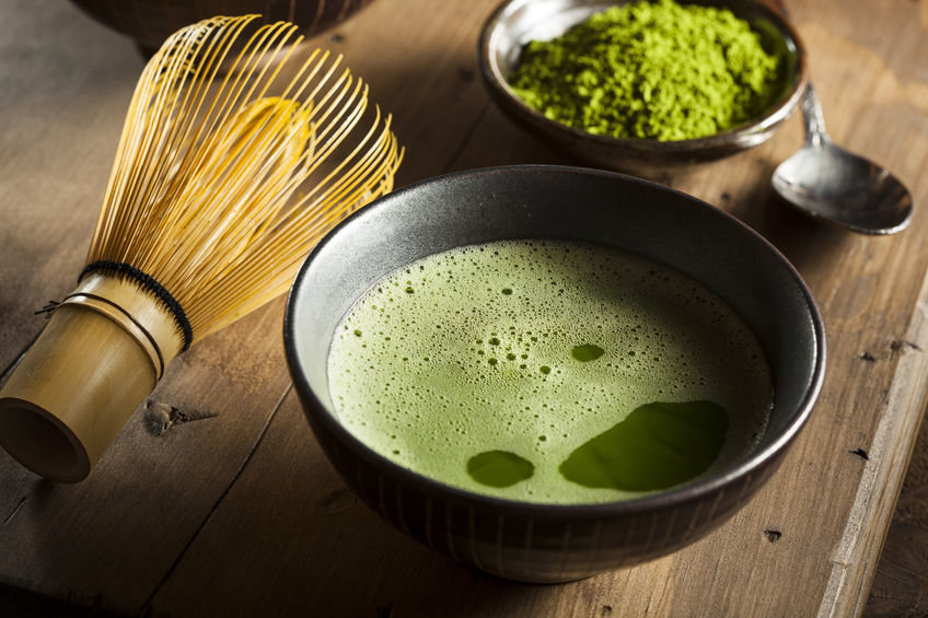 Matcha čaj je považovaný za superpotravinu