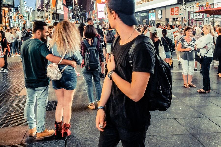 Chôdza v meste