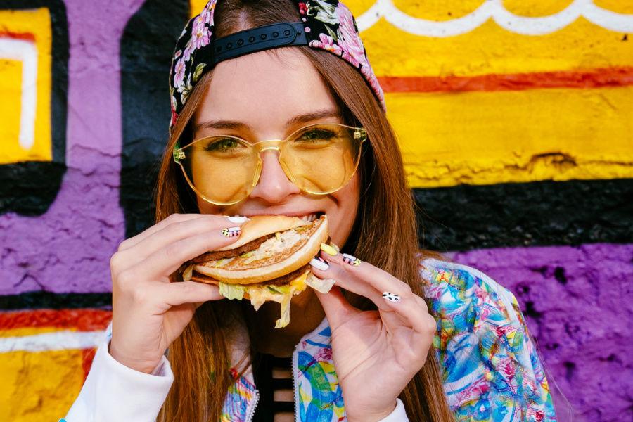 Fast food, soľ a priberanie