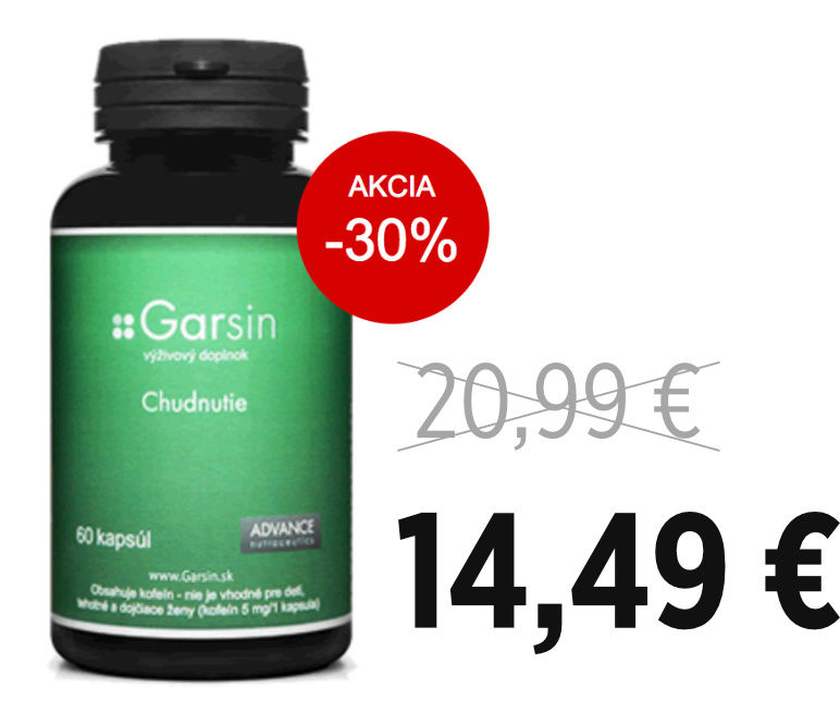Tabletky na chudnutie Garsin - zľava -30%