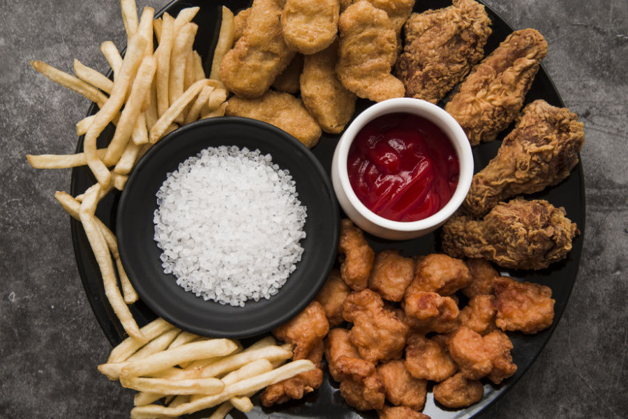 Soľ a priberanie - vysmážaná kuracinka