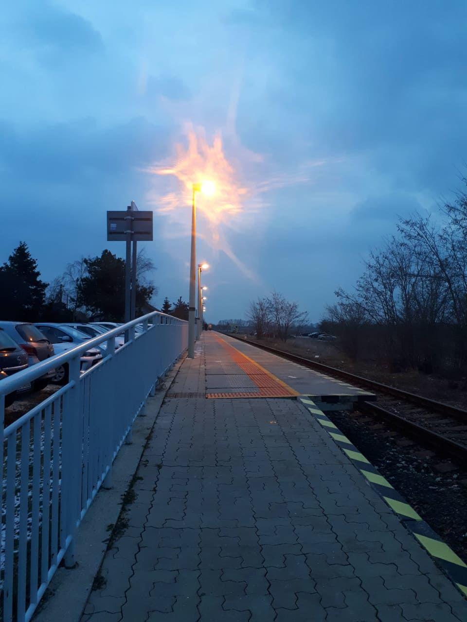 Ráno chodím peši na stanicu