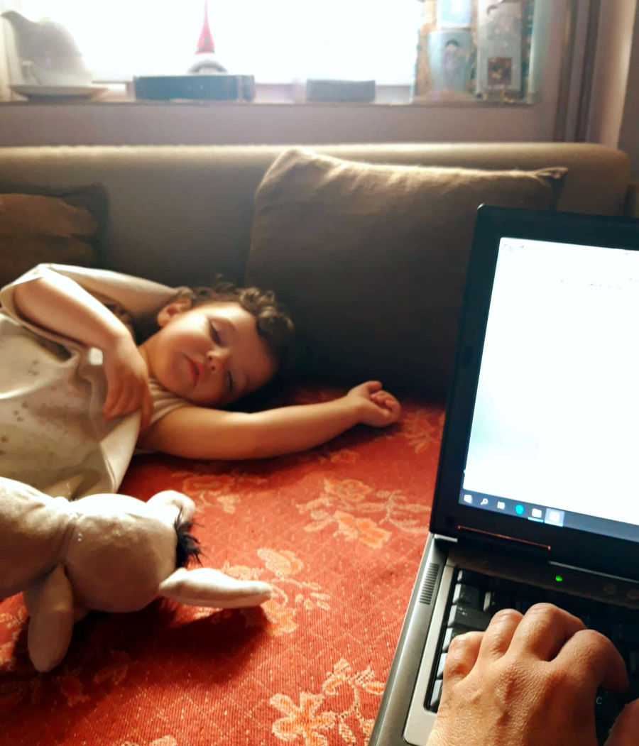 Rozprávanie o zmysle života - vnučka