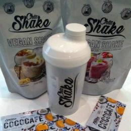 Chia Shake produkty a šejker