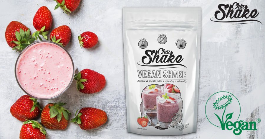 Chia vegan shake - banner