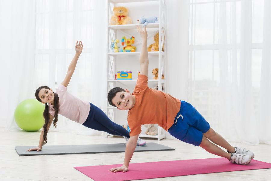Deti a pohyb, cvičenie