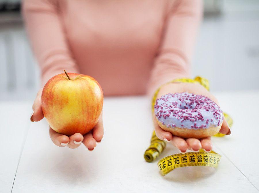 Jablko alebo sladkosť?