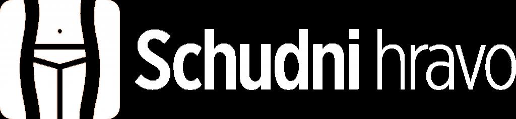 Logo Schudni hravo biele