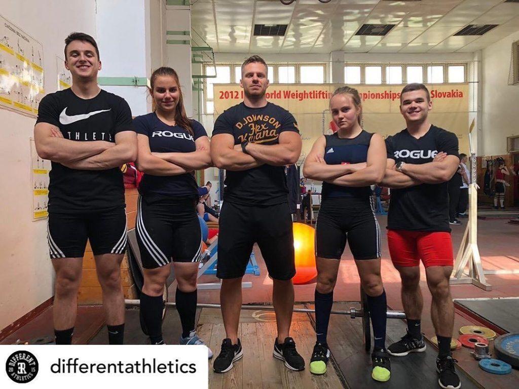 Cvičenie v Different Athletics Trnava - CrossFit Games