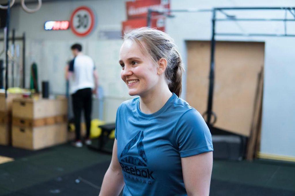 Cvičenie CrossFit - Nina Ladvenicová