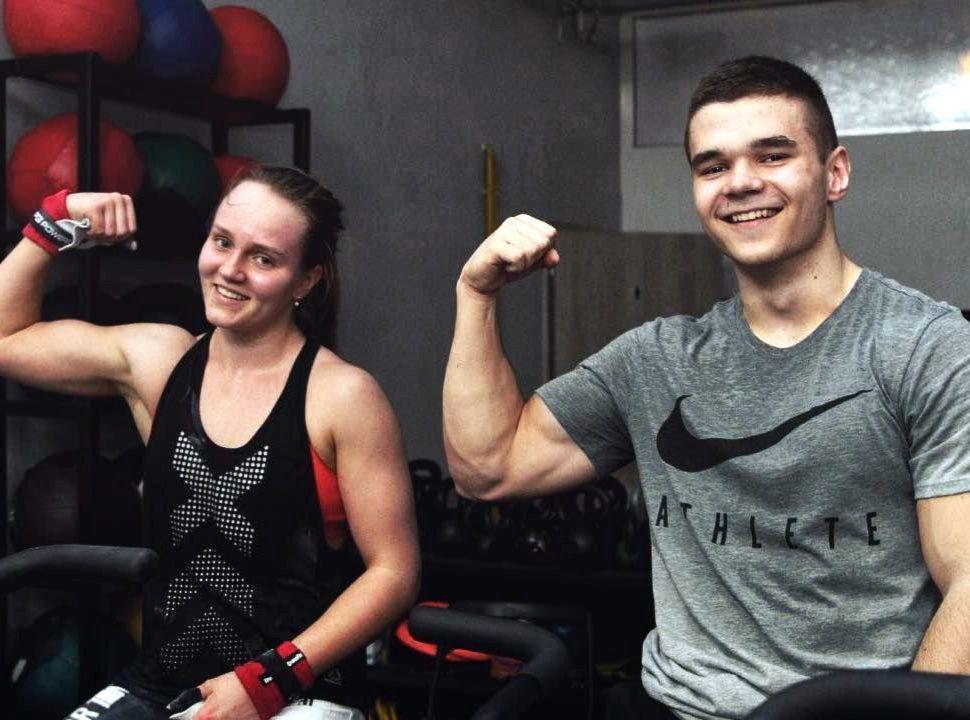 Nina Ladvenicová a Matúš Kočar, CrossFit