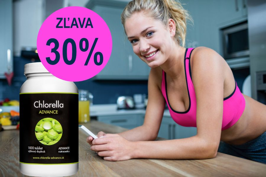 Chlorella Advance Akcia -30%