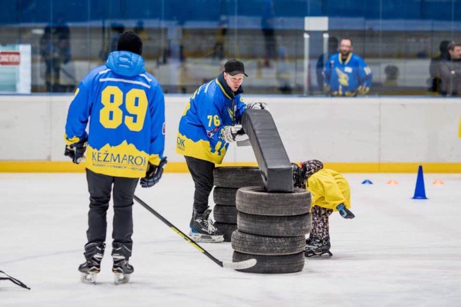 Hokej deti, Kežmarok, tréning