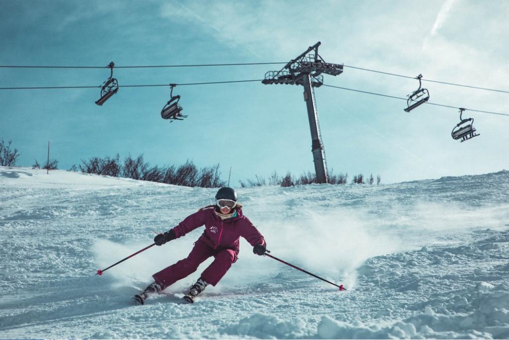 vianočné obdobie - zimné športy