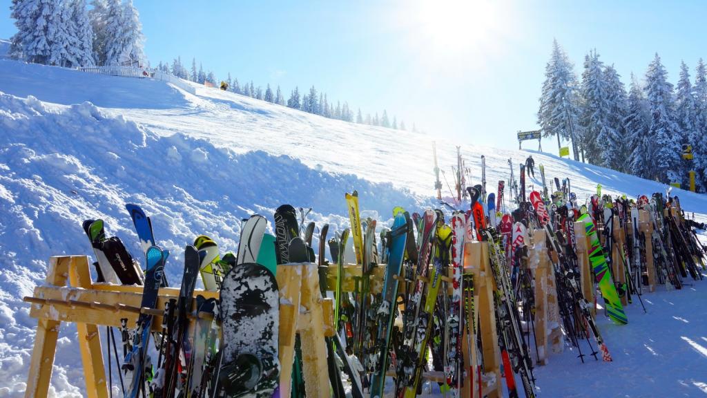 lyžovanie na Slovensku - vianočné obdobie