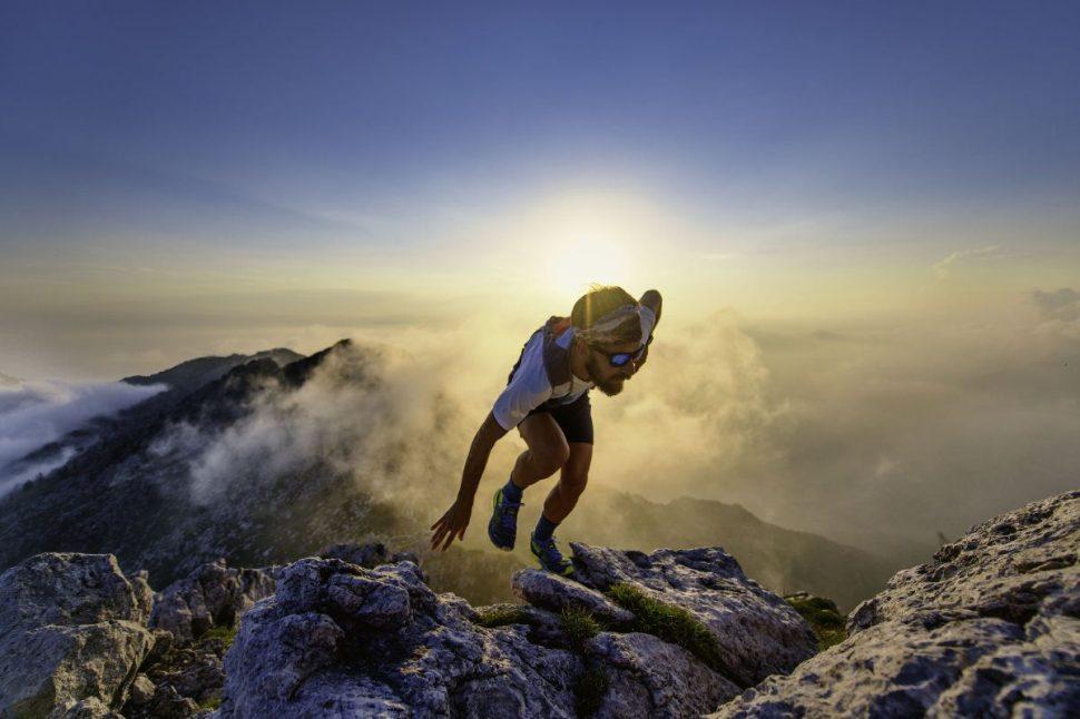 Ultrabeh, bežec na vrcholku hôr