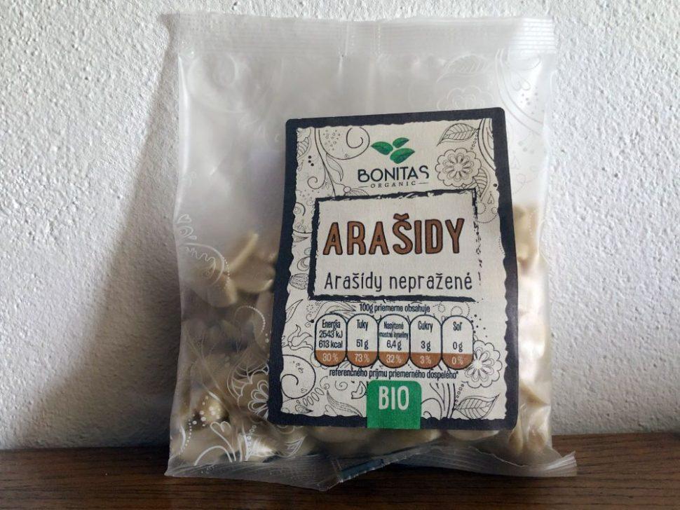 Arašidy Bonitas BIO, balenie 100 g, z eshopu Nutiva