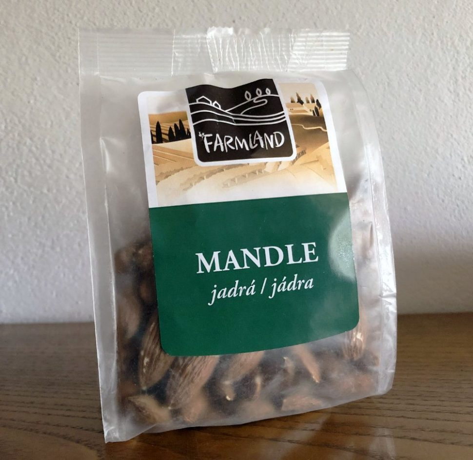 Mandle jadrá, Farmland, z eshopu Nutiva