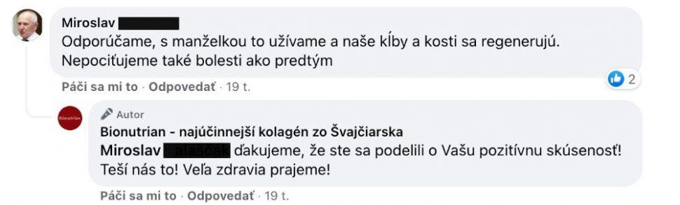 Kolagén - referencie FB 4