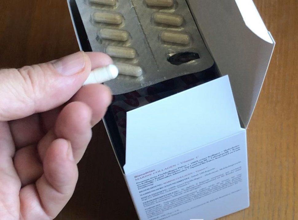 Kolagénové tabletky Bionutrian vprstoch